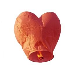 Lampion inimă roșie
