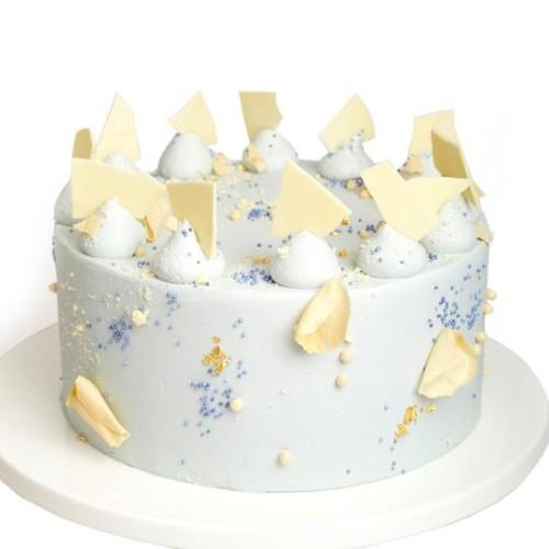 Tort cu ciocolată albă