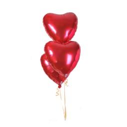 3 Baloane inima