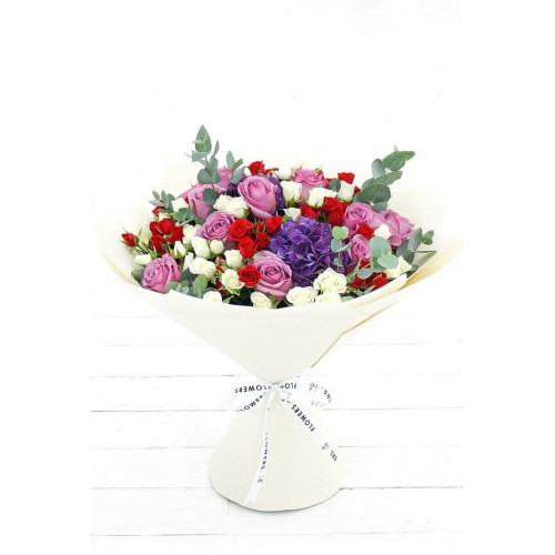 Buchet Trandafiri Mix