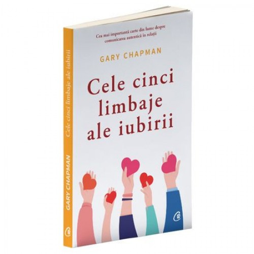 """Cartea  """"Cele cinci limbaje ale iubirii"""""""