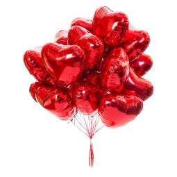 Set 15 baloane cu heliu Inima