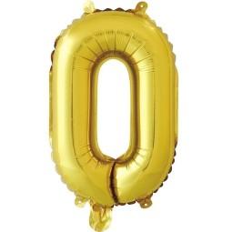 Balon cu heliu cifra 0