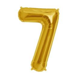 Balon cu heliu cifra 7