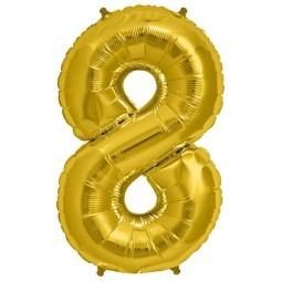Balon cu heliu cifra 8