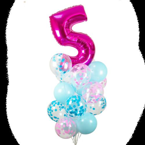 Baloane cu heliu sărbătoare