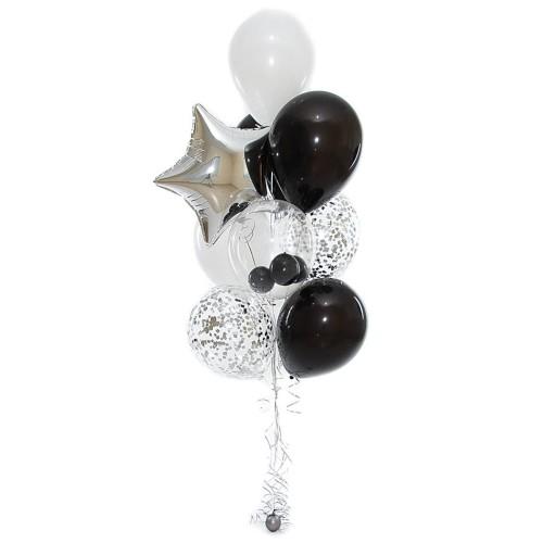 Compoziție din baloane cu heliu Nr.1