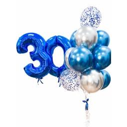 Compoziție din baloane cu heliu Nr.10
