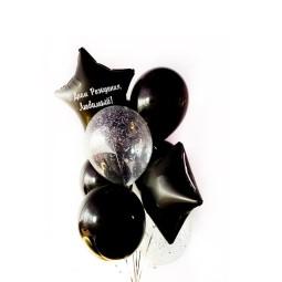 Compoziție din baloane cu heliu Nr.15