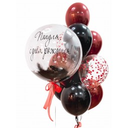 Compoziție din baloane cu heliu Nr.16