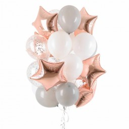 Compoziție din baloane cu heliu Nr.17