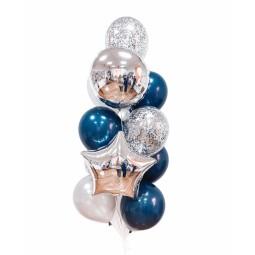Compoziție din baloane cu heliu Nr.2