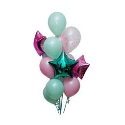Compozitie din baloane cu heliu Nr.23