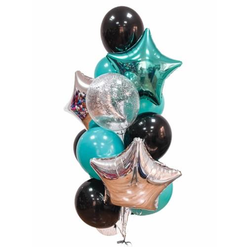 Compozitie din baloane cu heliu Nr.3
