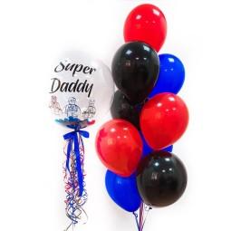 Compoziție din baloane cu heliu Nr.6
