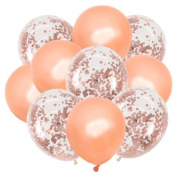 Set 10 baloane aurii