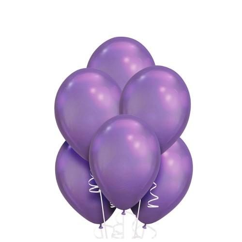 Set 10 baloane cu heliu multicolore